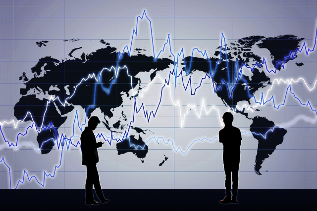 株式、為替市場に広がる不安感